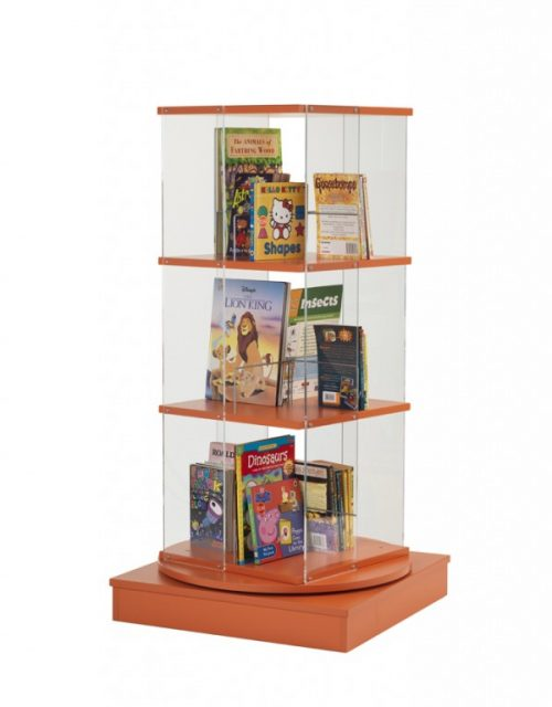 Static Picture Book Spinner | Educational Library Furniture | United Kingdom