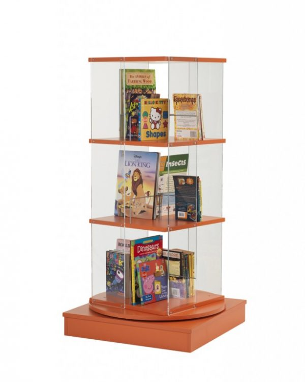 Static Picture Book Spinner   Educational Library Furniture   United Kingdom