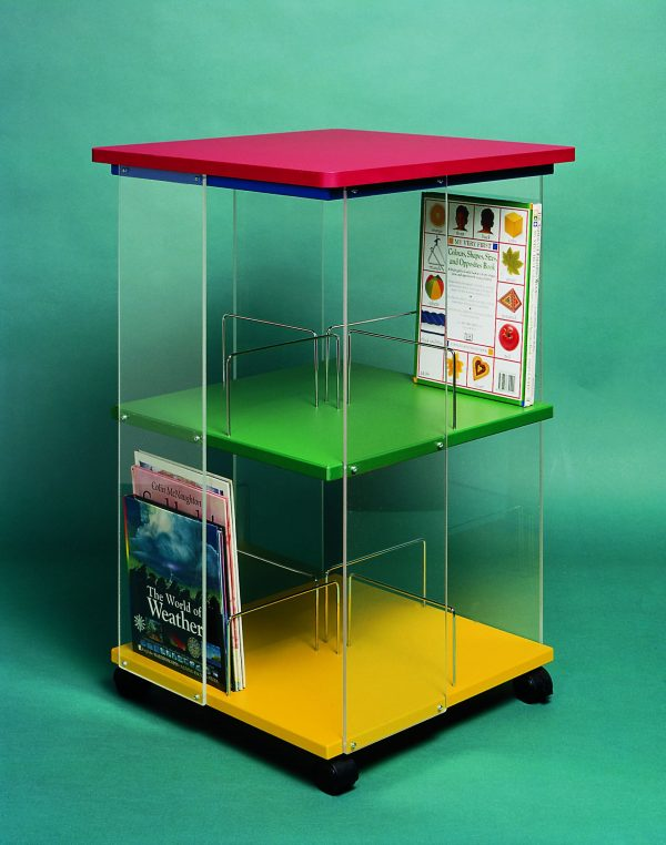 Mobile Picture Book Spinner   Educational Library Furniture   United Kingdom