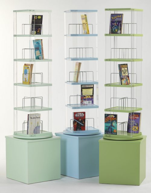 High CD Library Spinner | Educational Library Furniture | United Kingdom