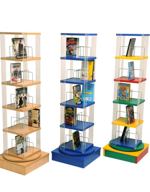 Low CD Spinner | Educational Library Furniture | United Kingdom